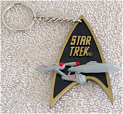 Star Trek Communicator Key Chain Enesco 1993-94
