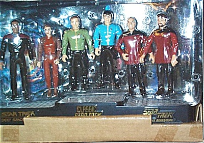 Star Trek 6 Action Figures  Leaders Set Playmates (Image1)