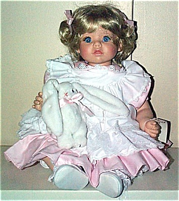Susan Wakeen Cindy Baby Doll with Bunny 1994 (Image1)