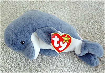 1555c9f2077 Ty Echo the Dolphin Beanie Baby 1997-1998 (Ty Beanie Babies) at ...