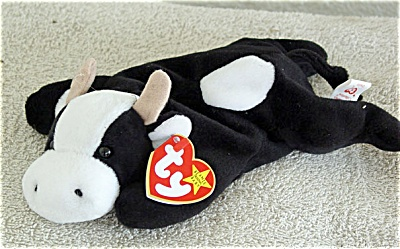 Ty Daisy the Black and White Cow Beanie Baby 1994-1998 (Image1)