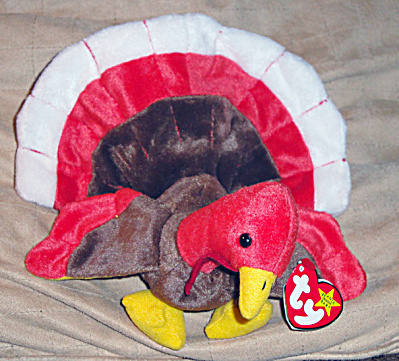 Ty Gobbles The Turkey Beanie Baby 1997-1999