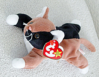 Ty Chip the Kitten Beanie Baby, 1997-1999 (Image1)