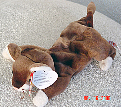 Ty Pounce the Kitten Beanie Baby, 1997-1999 (Image1)