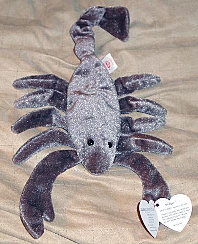 1bdc1e7db50 Type  Ty Beanie Baby Scorpion Country of Origin  US Manufacturer  Ty