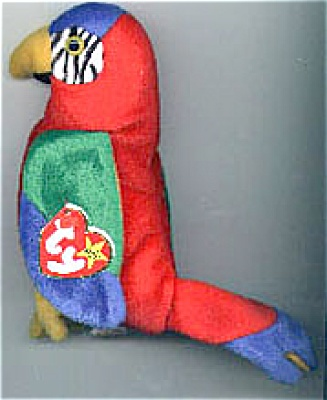 Ty Jabber the Parrot Beanie 1998-1999 (Image1)