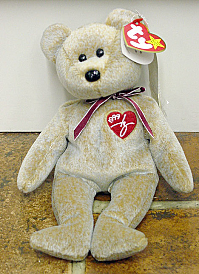 Ty 1999 Signature Teddy Bear Beanie Baby