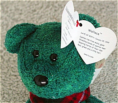 Type  Ty Beanie Baby Bear Country of Origin  US Manufacturer  Ty faf9bbd5c45c