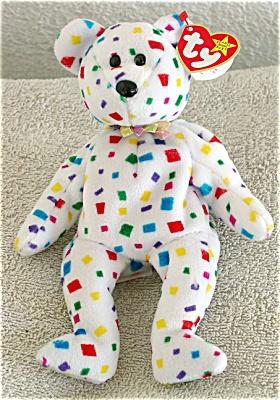 Ty 2K the Teddy Bear Beanie Baby 1999 (Image1)