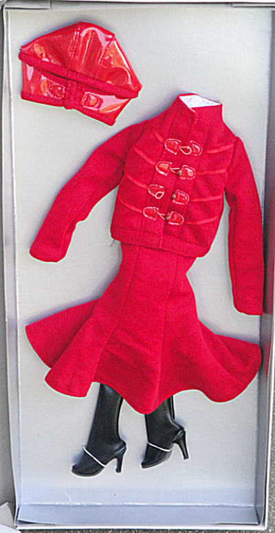 Tonner Dynamic Red Outfit Only for Cami and Jon Dolls (Image1)