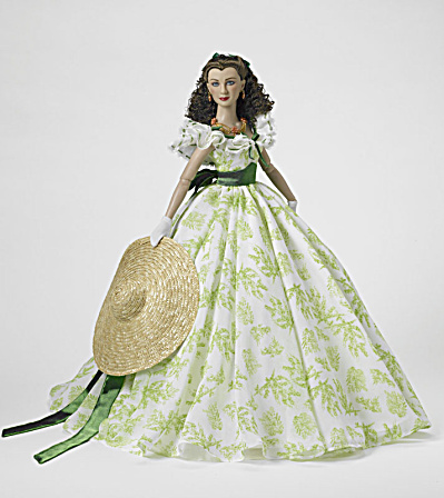 Gone With The Wind What My Lamb Gonna Wear Scarlett Doll R.t.