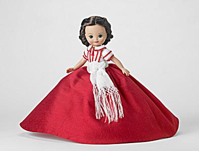Tonner Tiny GWTW Christmas in Atlanta Scarlett Doll, 2010 (Image1)