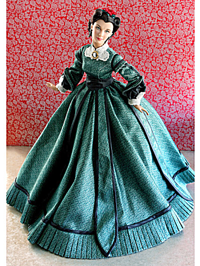 Christmas 1863 Scarlett Gone with the Wind Doll, Tonner 2011 (Image1)
