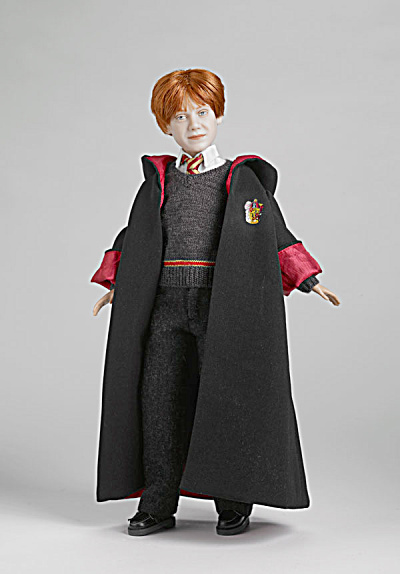 Tonner 12 In. Ron Weasley Doll With Gryffindor Robe 2010