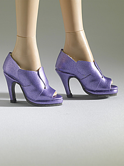 Tonner Nu Mood Purple High Heel 6 Doll Shoes 2012 (Image1)