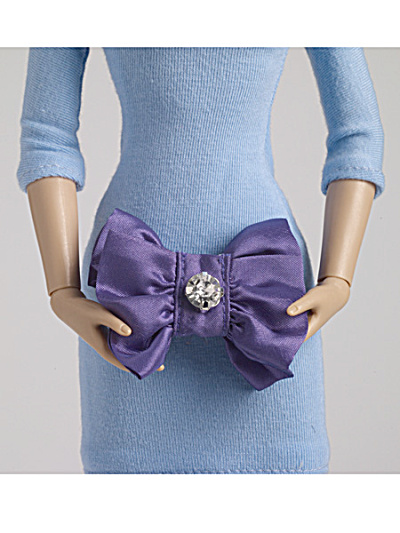 Tonner Nu Mood Purple Fashion Doll Purse 2012 (Image1)