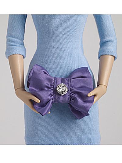 Tonner Nu Mood Purple Fashion Doll Purse 2012 (Image1)