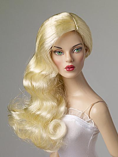 Tonner Nu Mood Blonde Side Part Wave Doll Wig 2012 (Image1)