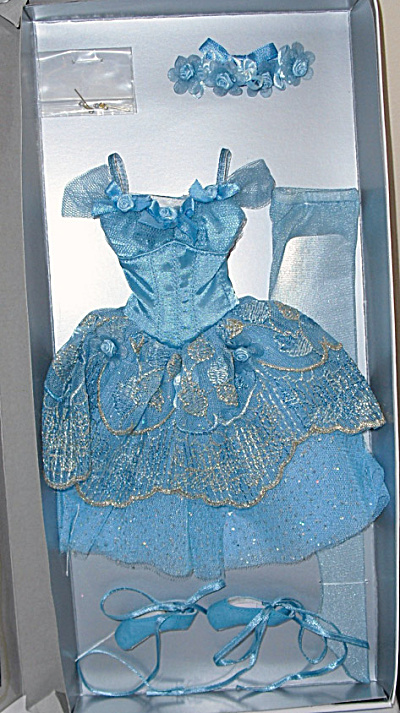 Tonner Blue Bird 16 In. Ballet Doll Outfit Only 2013