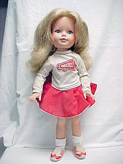 Tomy 1983 Closed Mouth Kimberly Cheerleader Doll (Image1)