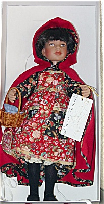 Tonner 1996 Vinyl Red Riding Hood Artist Doll (Image1)