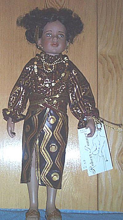 Tonner Kwanza Vinyl Artist Doll 1997 (Image1)