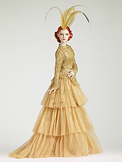 Romantic Gold Precarious Fashion Doll, Tonner 2012