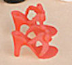 Tonner Red 10.5 In. Revlon Doll High Heel Shoes, 2012 (Image1)