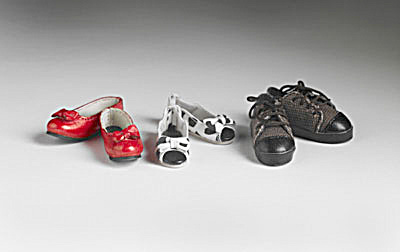 Tonner 16 In. Wentworth Fashion Doll Park Avenue Flats Shoes (Image1)