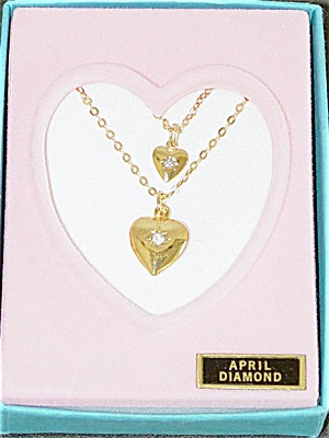 Vogue Ginny Doll and Girl April Diamond Necklaces 1993 (Image1)