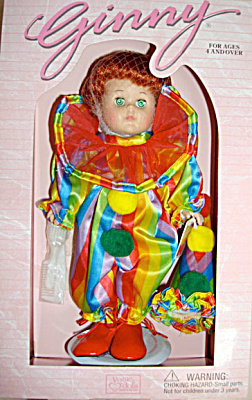 1998 Vogue Ginny Clown Circus Doll (Image1)