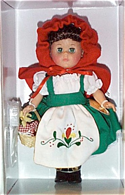 Vogue 2001 Modern Ginny Doll As Red Riding Hood (Image1)