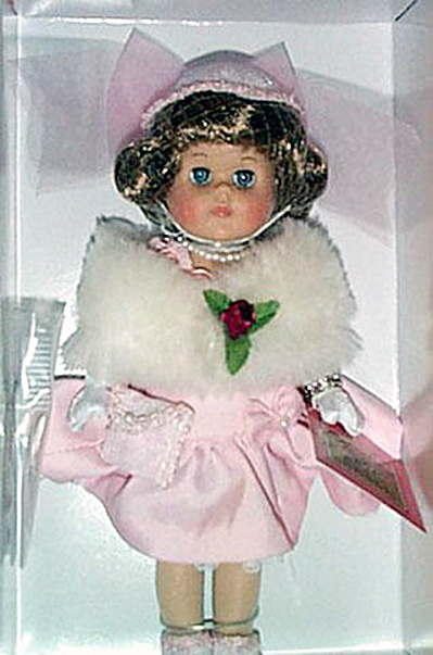 2001 Vogue Hat Shoppe Dinner at Eight Ginny Doll (Image1)