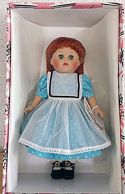 Vogue Wee Imp Reissue Ginny Doll In Aqua Dress 2002 (Image1)