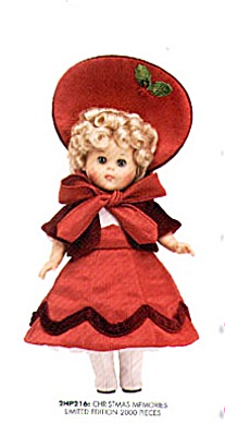 2002 Vogue Christmas Memories Ginny Doll (Image1)