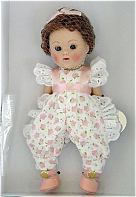 Vogue Just Peachy Crib Crowd Ginny Vintage Repro Doll 04 (Image1)