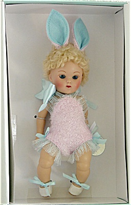 Vogue 2005 Crib Crowd Pink Bunny Vintage Repro Ginny Doll (Image1)