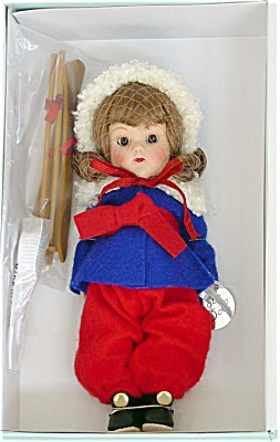 Vogue 2005 Vintage Repro Auburn Ginny Skier Doll (Image1)