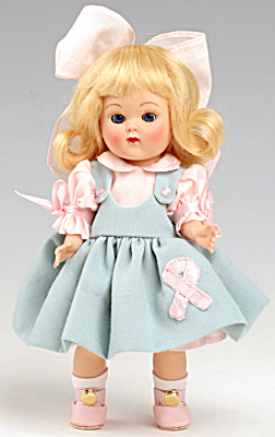 Vogue Doll Club Blonde Breast Cancer Ginny Doll Kit 2007 (Image1)