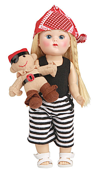 Vogue Vintage Repro Ginny Doll Pirates Ahoy Girl Outfit Only