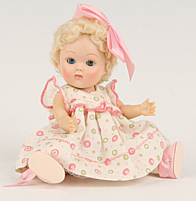 Vogue Vintage Repro Ginny Crib Crowd Bubbles Doll Outfit (Image1)
