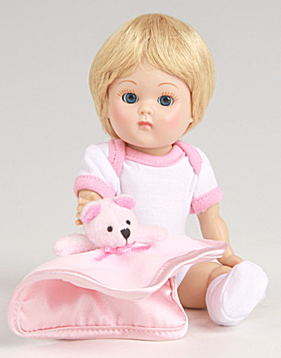 Vogue Blonde Dress Me Vintage Repro Crib Crowd Ginny Doll 09