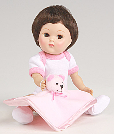 Vogue Brunette Dress Me Vintage Repro Crib Crowd Ginny Doll (Image1)