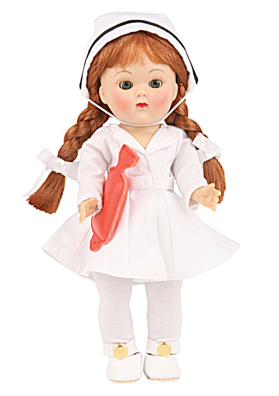 Vogue Red Head Nurse Ginny Vintage Repro Doll 2009 (Image1)
