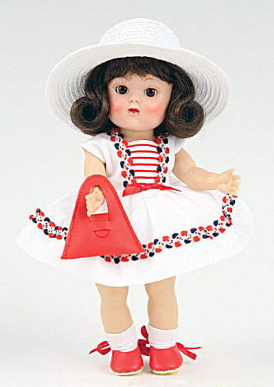 Vogue Red, White, and Blue Ginny Vintage Repro Doll 2009 (Image1)