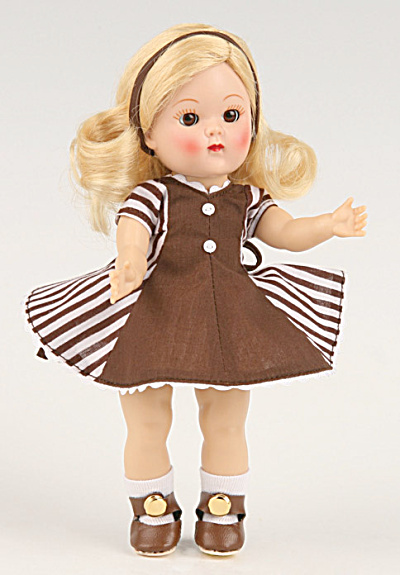Vogue Fun Frolic No. 7025 Ginny Vintage Repro Doll 2009 (Image1)