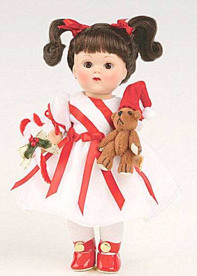 Vogue Loved One And Sugar Plums Ginny Vintage Repro Doll 2009