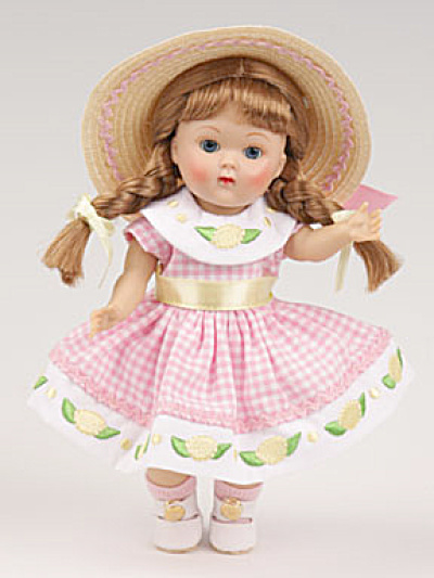Vogue Pink Lemonade Ginny Vintage Repro Doll 2009