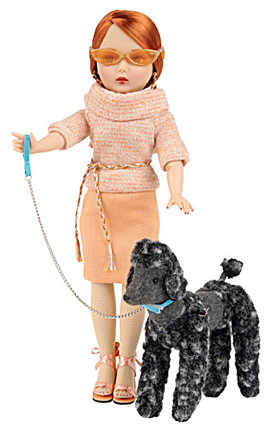 Vogue Poodle Walk Modern Jill Doll with Dog 2009 (Image1)