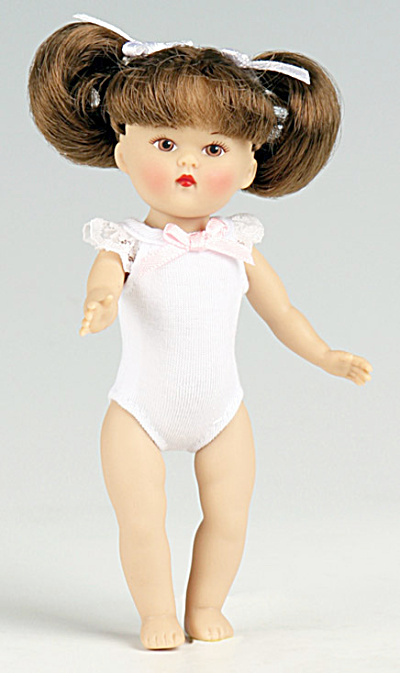 Vogue Light Brown Hair Dress Me Mini Ginny Doll 2010 (Image1)